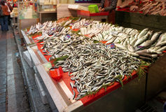 Street fish market in Istanbul Royalty Free Stock Photo