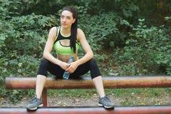 Street fitness Stock Photo