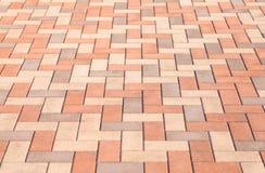 Street floor tiles as background Royalty Free Stock Photo
