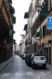 Street of the Florence Royalty Free Stock Photos