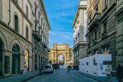 Street Florence stock photography