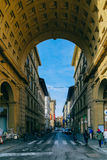 Street Florence Royalty Free Stock Photography