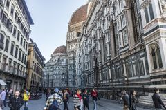 Street in Florence, Italy Royalty Free Stock Photos