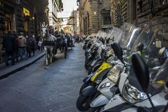 Street in Florence, Italy Royalty Free Stock Photo