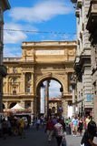 Street in Florence, Italy Stock Image