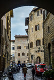 Street in Florence Stock Images