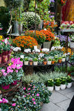 Street flower shop Royalty Free Stock Photography