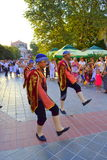Street folk parade Royalty Free Stock Photos