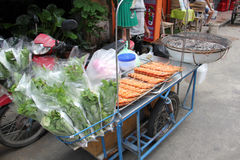 Street food in Bangkok stock photos