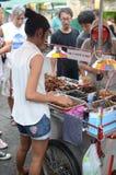 Street food in Bangkok. Thailand Stock Photos