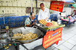 Street food in Bangkok royalty free stock image