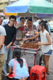 Street food in Bangkok Stock Image