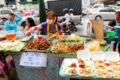 Street food in Bangkok, Thailand Stock Photography