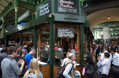Street Food in Borough Market London Stock Images