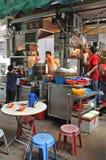Street food cafe in Hong Kong Stock Image