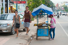 Street food, Cambodia Royalty Free Stock Photos