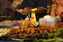 Street food. In Chiang Mai Saturday Walking Street Thailand stock photo
