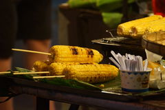 Street food. In Chiang Mai Saturday Walking Street Thailand royalty free stock photography