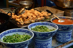Street food in China Royalty Free Stock Image
