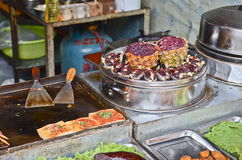 Street food in China Royalty Free Stock Images