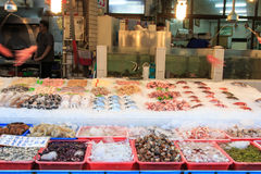 Street food in Cijin Island - Kaohsiung, Taiwan Royalty Free Stock Photography