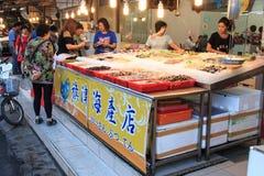 Street food in Cijin Island - Kaohsiung, Taiwan Stock Photo