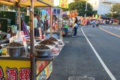 Street food in Cijin Island - Kaohsiung, Taiwan Stock Photography