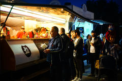 Street Food Fest 2017, Bucharest, Romania Royalty Free Stock Photos