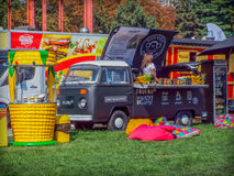 Street food festival 2016 bucharest, romexpo Stock Photos