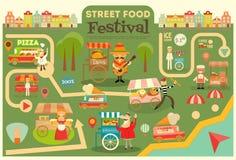 Street Food Festival Stock Photo