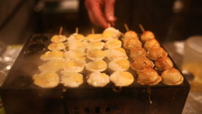 Street food festival stock video footage