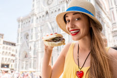 Street food in Florence Royalty Free Stock Image