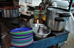 Street food in India Royalty Free Stock Images