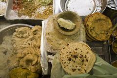 Street Food From India Royalty Free Stock Photos
