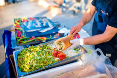Street food in Istanbul royalty free stock photo