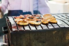Street food in Istanbul Stock Photography