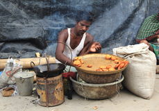 Street Food In Kolkata. stock image