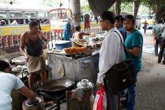 Street food in Kolkata, India Royalty Free Stock Images