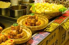 Street food at Lijiang old town Stock Photo