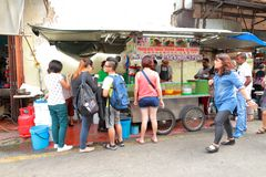 Street food in Malaysia Penang Royalty Free Stock Photos