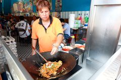 Street food in Malaysia Penang Royalty Free Stock Image