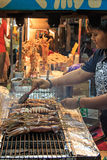 Street food market in Kenting night market Royalty Free Stock Image