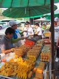 Street food. Meal street tall in Bangkok Royalty Free Stock Photo