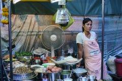 Street food at the Night Market in Hua Hin Royalty Free Stock Photos