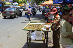 Street food in Phnom Phen Stock Images