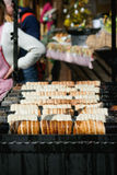 Street food in Prague Stock Images