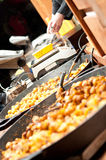Street food in Prague Stock Photography
