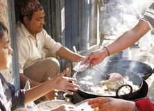 Asian street food Royalty Free Stock Image