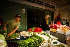 Street food seller in Jakarta, Indonesia Royalty Free Stock Photos