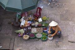 Street food seller Royalty Free Stock Photos